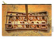Arizona Biltmore Cattle Brand Carry-all Pouch
