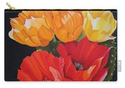 Arizona Blossoms - Prickly Pear Carry-all Pouch