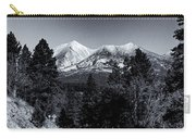 Arizona Country Road In Black And White Carry-all Pouch