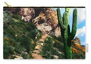 Arizona Saguaro Tonto National Monument Carry-all Pouch