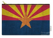 Arizona State Flag Carry-all Pouch by Pixel Chimp