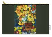 Arizona Sunflowers Carry-all Pouch by Sherry Harradence
