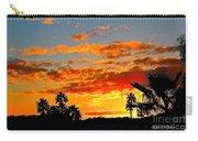 Beautiful Arizona Sunset Carry-all Pouch