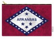 Arkansas Flag Carry-all Pouch