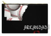 Arkansas Loves Baseball Carry-all Pouch by Andee Design