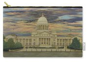 Arkansas State Capitol Carry-all Pouch by Mary Ann King
