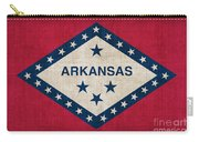 Arkansas State Flag Carry-all Pouch