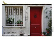 Arles House With Red Door Dsc01806  Carry-all Pouch