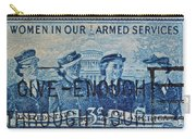 Armed Services Women Stamp Carry-all Pouch
