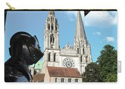 Armor And Chartres Cathedral Carry-all Pouch