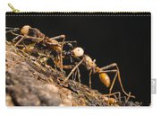 Army Ant Carrying Cricket La Selva Carry-all Pouch