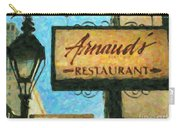 Arnauds New Orleans_oil Digital Art Carry-all Pouch