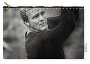 Arnold Palmer Pro-am Golf Photo Pebble Beach Monterey Calif. Circa 1960 Carry-all Pouch
