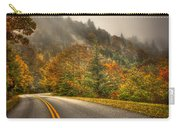 Around The Bend Clouds Along The Blue Ridge Parkway Carry-all Pouch