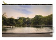 Around The Central Park Pond Carry-all Pouch