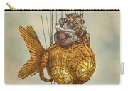 Around The World In The Goldfish Flyer Carry-all Pouch