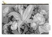 Arrangement In Black And White  Carry-all Pouch