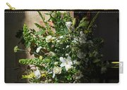 Arrangement Of White Flowers Carry-all Pouch