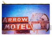 Arrow Motel Carry-all Pouch