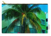 Art Deco Boulevard Hotel Miami Carry-all Pouch