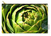 Art E. Choke - Artichokes By Diana Sainz Carry-all Pouch