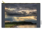 Art For Crohn's Lake Ontario Sun Beams Carry-all Pouch