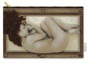 Art For The Sake Of Art Woman Framed 3 Carry-all Pouch