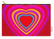 Art Heart Red Carry-all Pouch