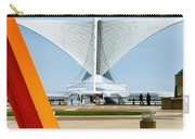 The Milwaukee Art Museum By Santiago Calatrava Carry-all Pouch