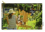Art In The Garden Carry-all Pouch