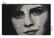 Art In The News 17-emma Watson Carry-all Pouch