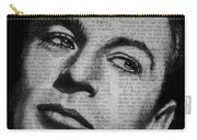 Art In The News 35-gary Cooper Carry-all Pouch