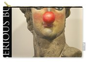 Art Is Serious Business Poster Carry-all Pouch