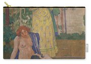 Art Nouveau Painting In The Mayors Carry-all Pouch