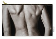 Art Of A Woman's Back Muscles  Carry-all Pouch