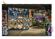 Art Of The Underground Carry-all Pouch by Heather Applegate