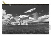 Art Over A Field Of Grey Carry-all Pouch
