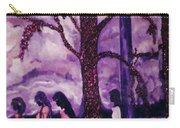 Art Purple Rain Carry-all Pouch