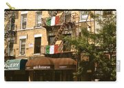 Arthur Avenue In The Bronx Carry-all Pouch