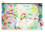 Arthur Rimbaud Watercolor Portrait Carry-all Pouch