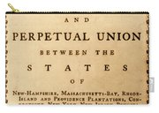 Articles Of Confederation, 1777 Carry-all Pouch