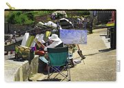 Artist At Work In Seaview - Isle Of Wight Carry-all Pouch