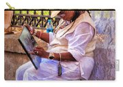 Artist At Work - Painting  Carry-all Pouch