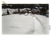 Artist Cabin Snowy Pathway Carry-all Pouch