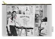 Artist Chuck Amesbury Aka Chuck Waggin Cartoon Corral Kvoa Tv Circa 1962-2013 Carry-all Pouch