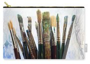 Artist Paintbrushes Carry-all Pouch