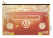 Artistic Digital Drawing Of A Vw Combie Campervan Carry-all Pouch