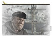 Artistic Digital Image Of An Old Sea Captain Carry-all Pouch
