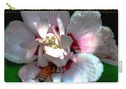 Artistic Shades Of Light And Pollinating Bee Carry-all Pouch