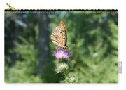 Artistic Butterfly Stand  Carry-all Pouch